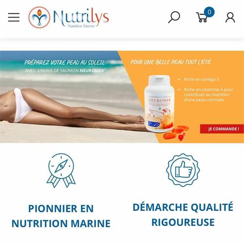 Le site www.nutrilys.com fait peau neuve ! 💻🤩  ✔️ Plus de contenu ✔️ Plus de lisibilité ✔️ Plus d'accessibilité  ➡️ pour vous apporter notre expertise des compléments alimentaires.   Allez le découvrir et faites-nous part de vos impressions en commentaires 🗳👍  #newwebsite #siteinternet #nutrilys #complementalimentaire #nutrition #nutritionsante